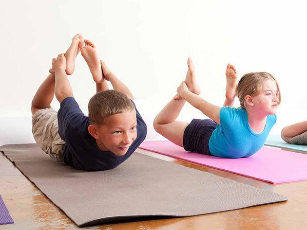 4 alkalmas jóga bérlet gyermekeknek