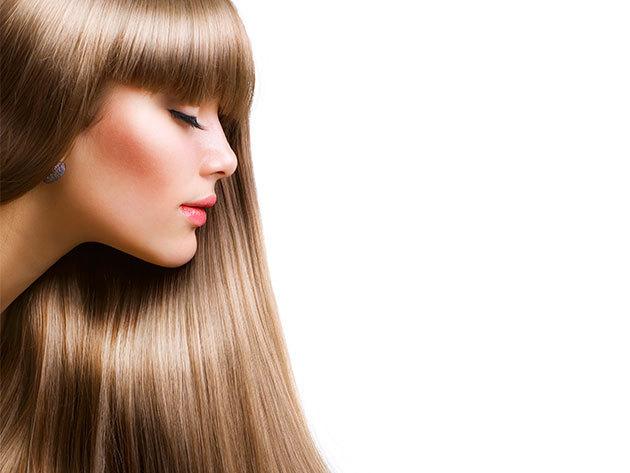 Hajhosszabbítás 41-50 cm hosszú európai hajjal, 120 tincs, mikrokeratinos hőillesztési technikával