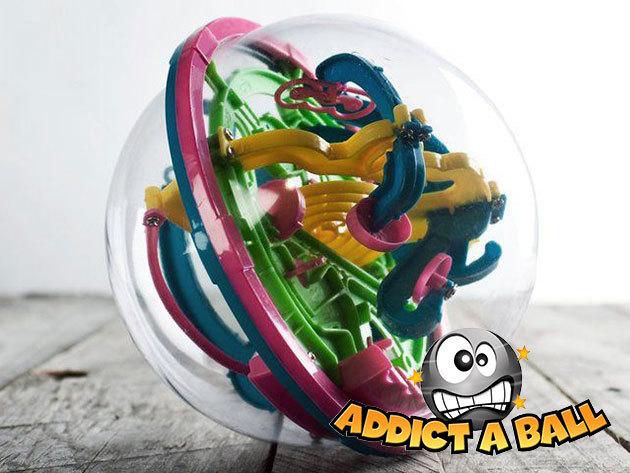 AddictaBall: Labda labirintus, térbeli logikai-ügyességi játék gyermekeknek