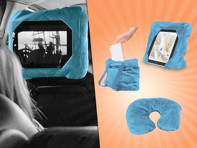 Multifunkciós iPad/tablet tartó párna - kényelmes netezés bárhol, bármikor