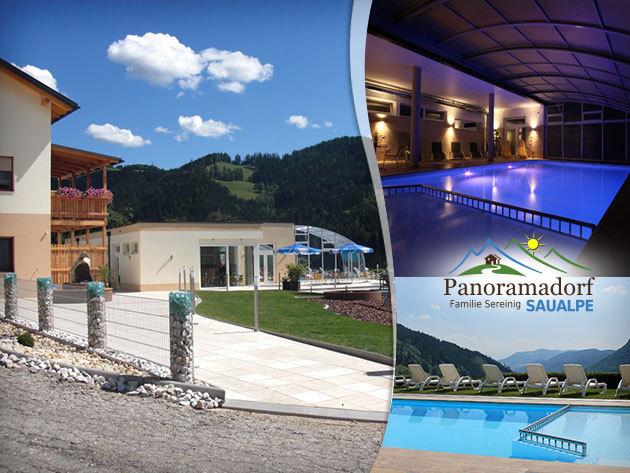 Napfényes tavasz Karintiában wellnessel és extrákkal! Panoramadorf Saualpe 4 nap /3 éj 2 fő részére félpanzióval!