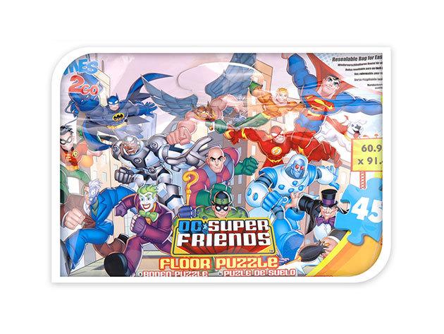Szuperhősök - nagy puzzle - 60.9cm x 91,4cm