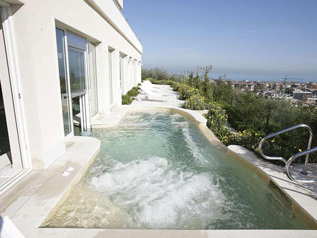 Villa Maria Hotel & Spa****s: Luxus wellness Olaszországban, az Adria partján! 8 nap 7 éjszaka 2 fő részére reggelivel
