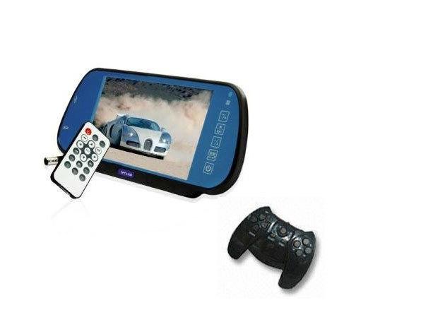 Autós multimédia lejátszó, bluetooth kihangosító, FM transmitter, tolatókamera