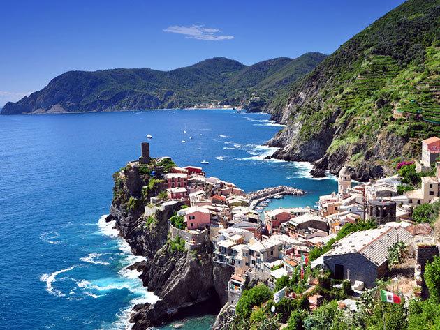 KEZDŐRÉSZLET -  Cinque Terre  Hotel***  Sud Est ( Lavagna ) 6 nap / 5 éjszakás szállodai csomag félpanzióval /fő