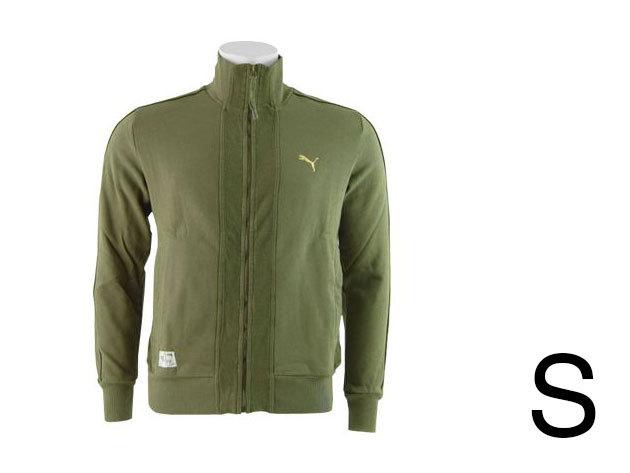 Puma Sweat férfi, zöld felső (S)