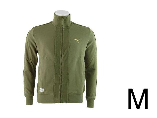 Puma Sweat férfi, zöld felső (M)