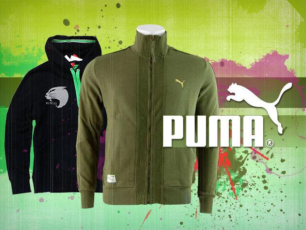 Puma OUTLET - cipzáras és kapucnis melegítő felsők férfiaknak