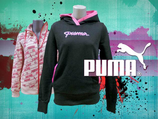1406d61fb6 Puma OUTLET - cipzáras és kapucnis melegítő felsők nőknek