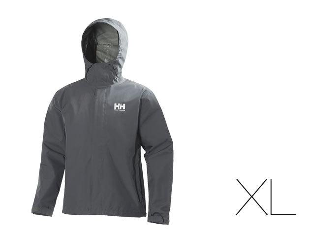 Helly Hansen férfi esőkabát - Szürke - XL