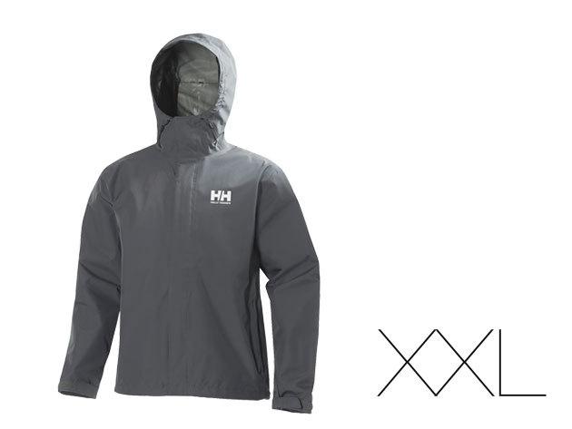 Helly Hansen férfi esőkabát - Szürke - XXL