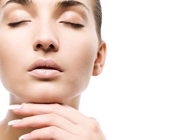 Rosacea, kipirosodott bőr, hajszálér kezelés az arcon- 3 alkalom