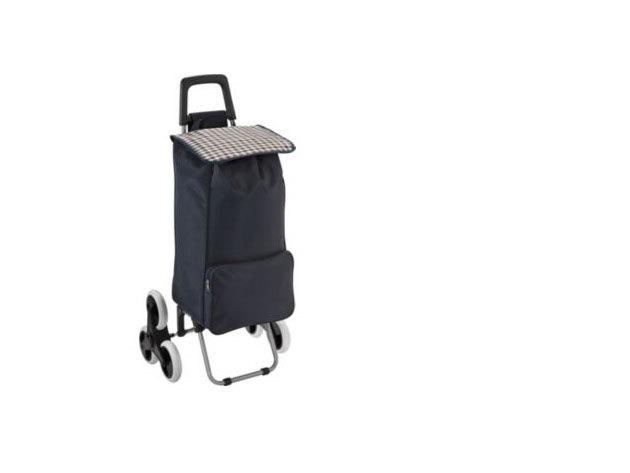 """Bevásárlókocsi """"lépcsőnjáró"""" kerékkel"""