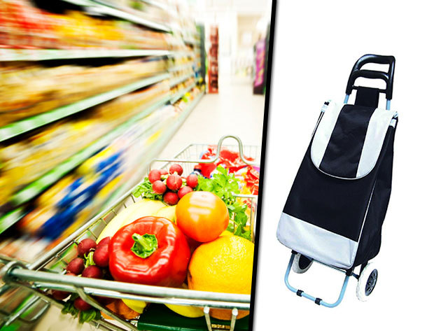 Gurulós bevásárlókocsik, akár 'lépcsőnjáró' változatban is, vidám színekben - irány a piac!