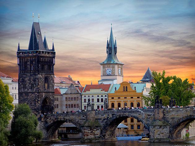"""Pünkösd Prágában június 7-9-ig: 3 nap a """"száztornyú"""" városban buszos utazással, szállással és reggelivel 1 fő részére"""
