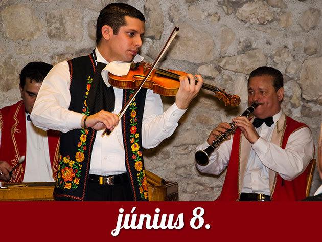 2014. június 8. vasárnap 18.00h - MAGIC VIOLIN cigányzenekar koncert a Budai Várban