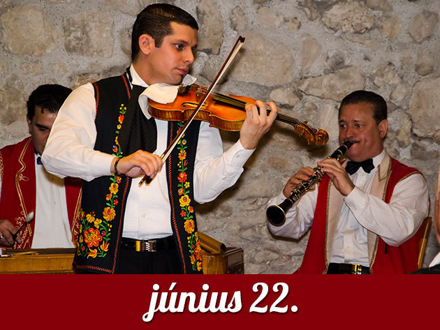 2014. június 22. vasárnap 19.00h - MAGIC VIOLIN cigányzenekar koncert a Budai Várban