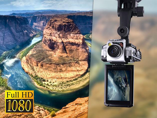 """12 MP-es kompakt HD kamera forgatható optikával és 2,5"""" TFT kijelzővel"""