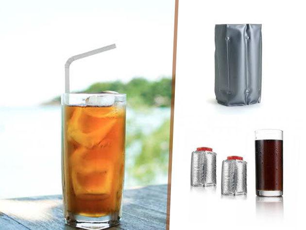 Palackhűtő párna két méretben - órákig hidegen tartja italodat