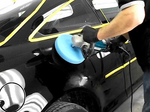 Autó polírozás + ajándék külső mosás, felnitisztítás és gumiápolás a Toob-nál