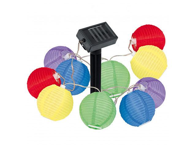 Napelemes lampion füzér HOP1000151
