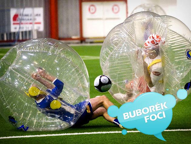 Buborékfoci Budapesten - 1 óra szórakoztató futball, hatalmas élmény a Nagy Csapattal (8 fő)