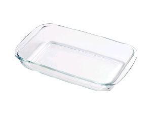 Hőálló üvegtál, szögletes, 1,8 l BL-2014