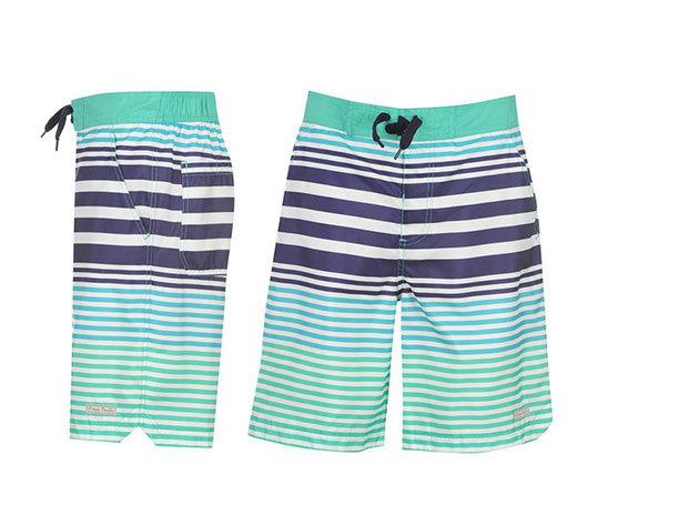 Ocean Pacific férfi fürdőnadrág - kék/fehér