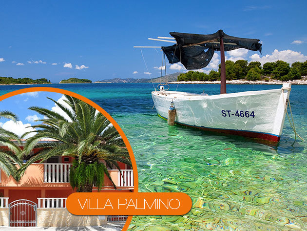 LAST MINUTE! Villa Palmino - horvátországi apartman Trogir közelében egy hétre, 2-6 fő részére - foglalható 21.990 Ft-tól!