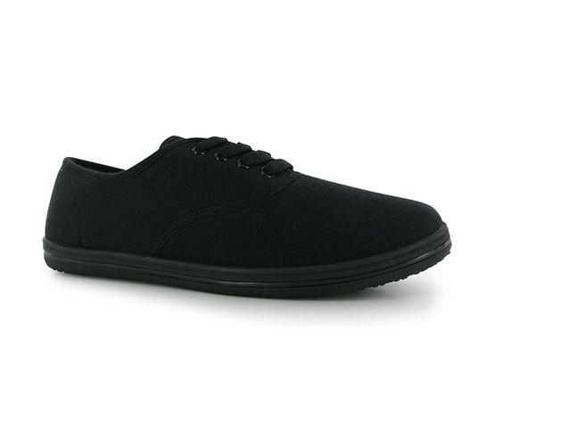 Slazenger női vászoncipő - FEKETE
