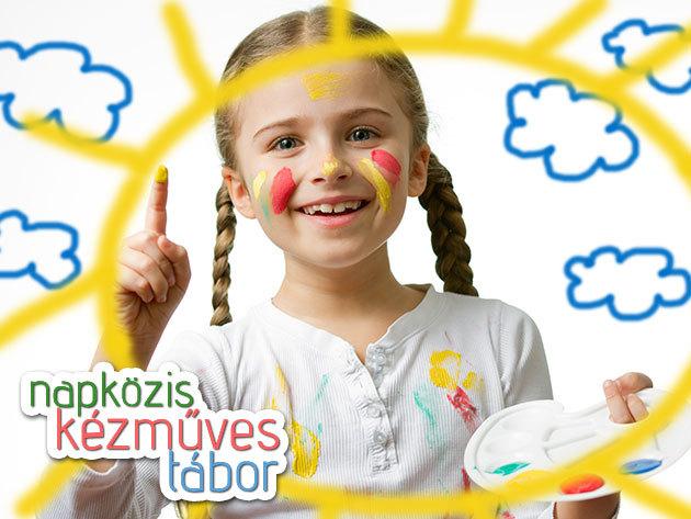 5 napos napközis kézműves tábor Kispesten, Csekei-Tóth Eszterrel - neves képzőművésztől tanulhat gyermeked