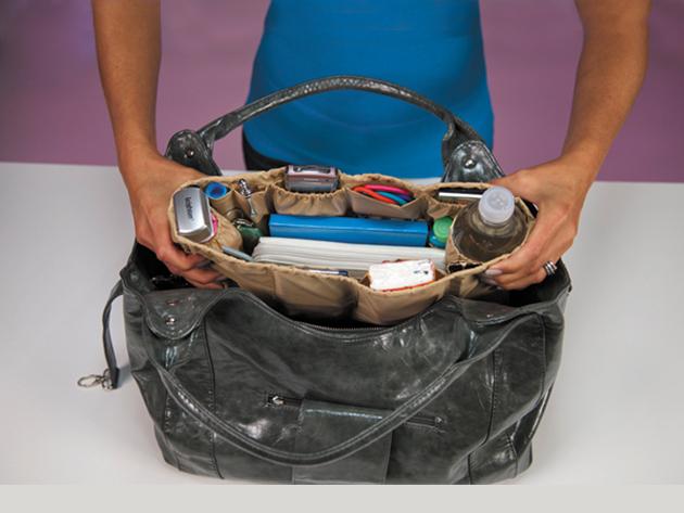 Kangaroo Keeper - praktikus táskarendező szett (2 db) fekete színben
