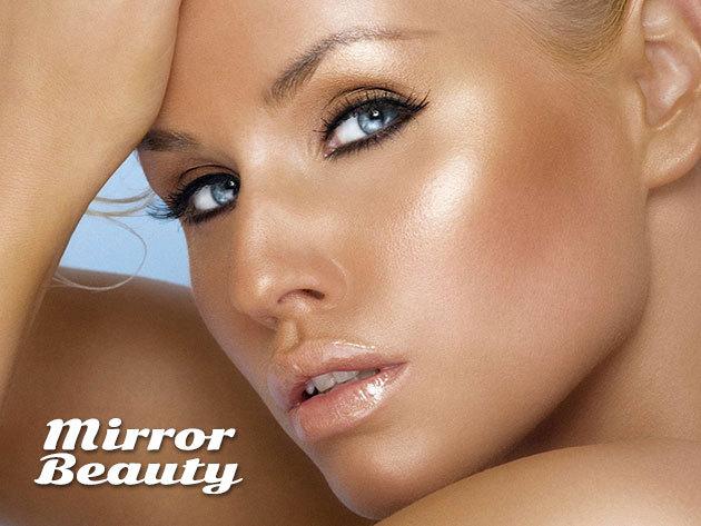 UV mentes barnulás 4D szempilla hosszabbítással, a belvárosi MIRROR Beauty Szépségszalonban
