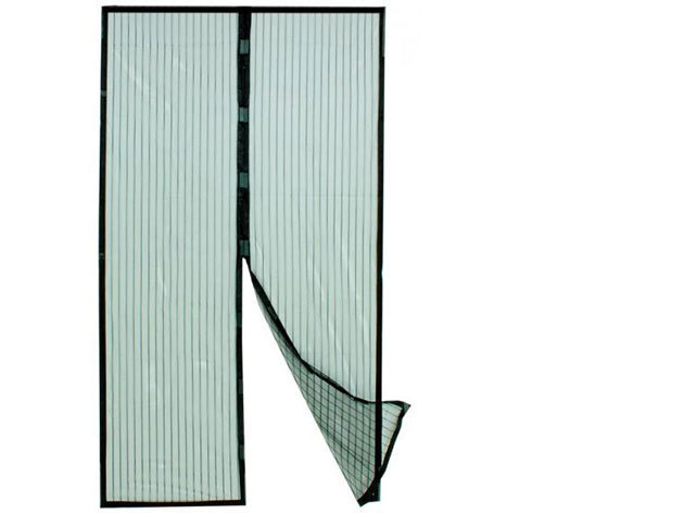 Mágneses szúnyogháló ajtókra - 210x100 cm