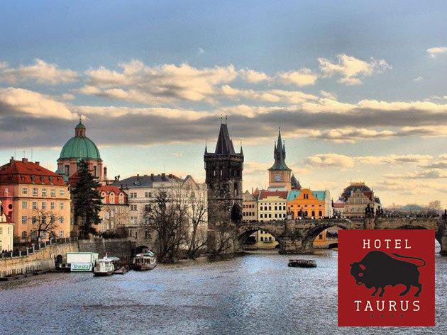 Hotel Taurus**** - 4 nap/3 éj, vagy 3 nap/2 éjszaka Prága központjában 2 fő részére, reggelivel