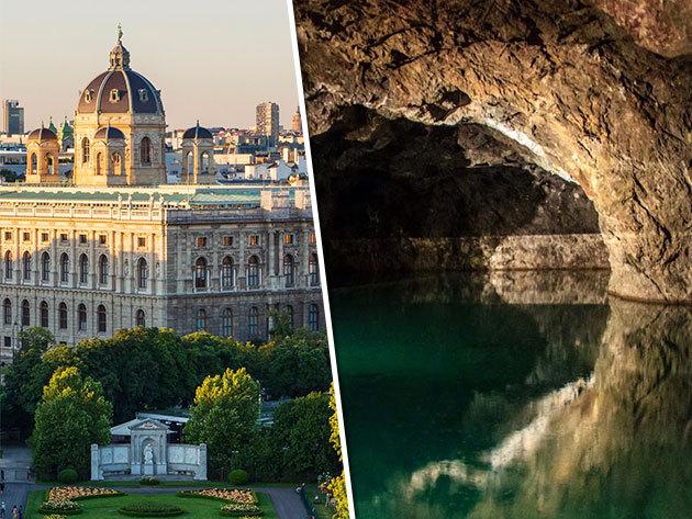 Irány Bécs! Városnézés és Seegrotte tavasbarlang látogatás - augusztus 9.