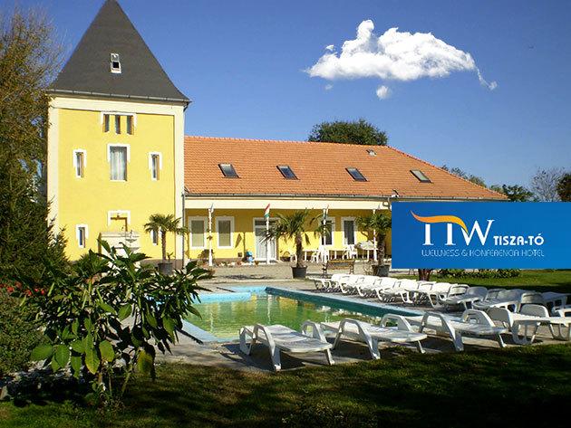 Tisza-tavi habzsi-dőzsi: 3nap/2éj 2fő részére, All Inclusive Light ellátással, masszázs kuponnal, wellness szolgáltatásokkal