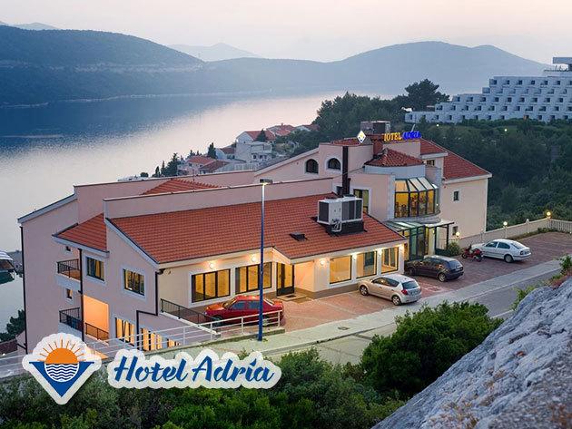 Tengerparti nyaralás Boszniában - Hotel Adria***, Neum - 5 nap / 4 éjszaka szállás augusztusban 1 főre, félpanziós ellátással