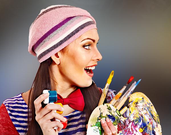Kétnapos jobb agyféltekés modern festő tanfolyam a XI. kerületben - aug. 22-23.