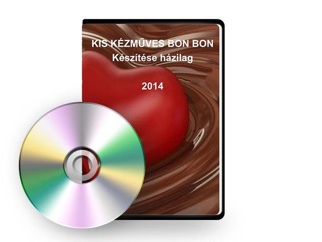 Bonbon készítés Otthon - Oktató DVD - AZONNAL ÁTVEHETŐ