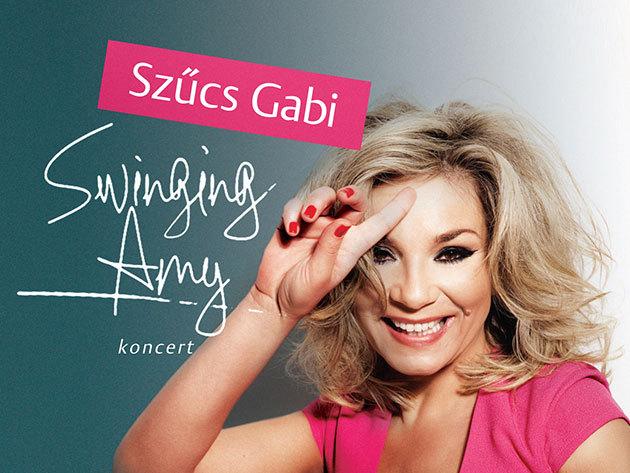 Városmajori Szabadtéri Színpad - Szűcs Gabi: Swinging Amy koncert, szeptember 7-én