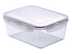 3,3 literes hőálló üvegedény, műanyag fedővel / BG-3636