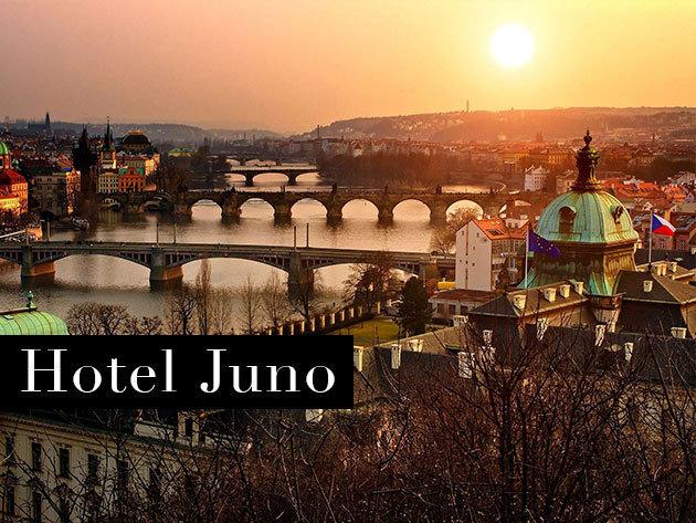 Fedezd fel Prágát! 3 nap/2 éj vagy 4 nap/3 éj 2 fő részére reggelivel - Hotel Juno