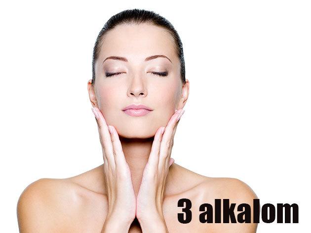 3 alkalom Hydroabráziós kezelés (3 x 30 perc)