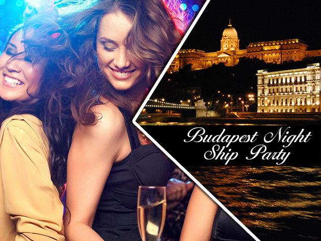 Party hajó a Dunán szeptember 12-én éjjel, italakciókkal - Zárd a nyári buliszezont rendhagyó módon!