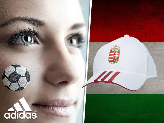 f37ba3bae568 ADIDAS baseball sapka Magyarország címerével - uniszex, állítható méret