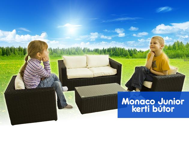 Exkluzív Monaco Junior kerti bútor garnitúra akció - maximális kényelem, gyermekeknek