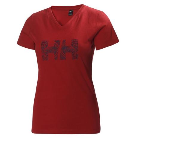 """Helly Hansen W Jotun T-Sshirt (ALERT RED) """"M"""""""