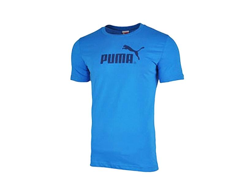 Puma BPPO 595 férfi kék pamut póló - L-es méret
