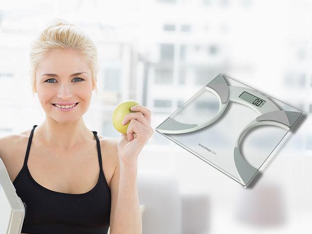 Salter testelemző személymérleg és Tidal digitális személymérleg, 1 év garanciával - segítség a diétához